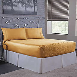 Bed Tite 300-Thread-Count Luxury Satin Sheet Set