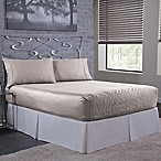 Bed Tite 300-Thread-Count Luxury Satin King Sheet Set in Silver