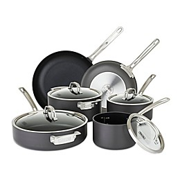 Viking® Hard Anodized Nonstick 10-Piece Cookware Set in Black