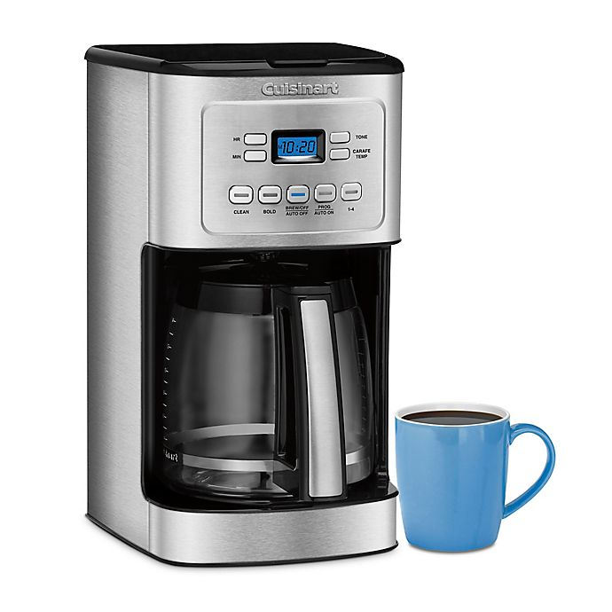 Alternate image 1 for Cuisinart® 14-Cup Programmable Coffee Maker with Hotter Coffee Option