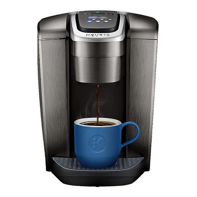 Alternate image 1 for Keurig® K-Elite™ Single Serve K-Cup® Pod Hot & Iced Coffee Maker in Brushed Slate
