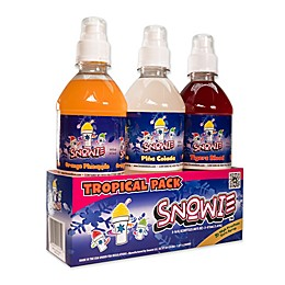 Snowie™ 3-Pack Feeling Tropical Flavored Snow Cone Syrup