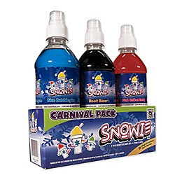 Snowie™ 3-Pack Carnival Style Flavored Snow Cone Syrup