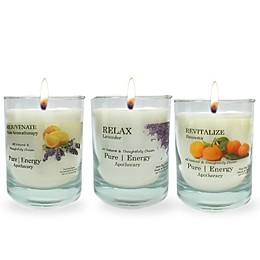 Pure Energy Apothecary Pure Aromatherapy Soy Candle Collection