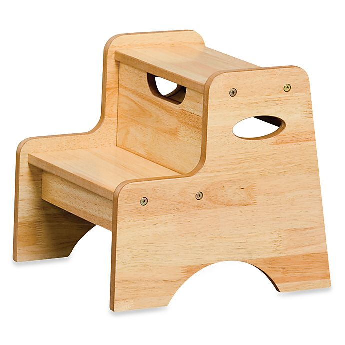 Strange Kidkraft Two Step Stool In Natural Bed Bath Beyond Creativecarmelina Interior Chair Design Creativecarmelinacom