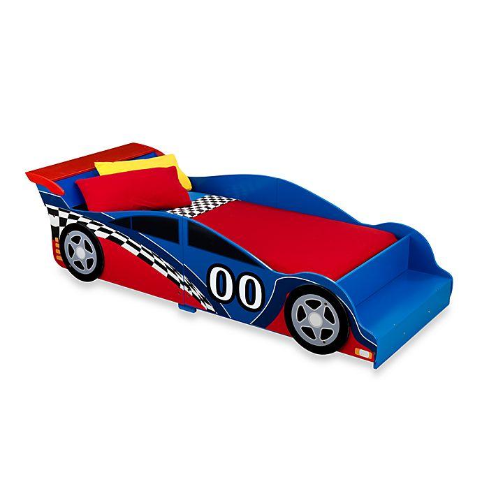 Alternate image 1 for KidKraft® Racecar Toddler Bed