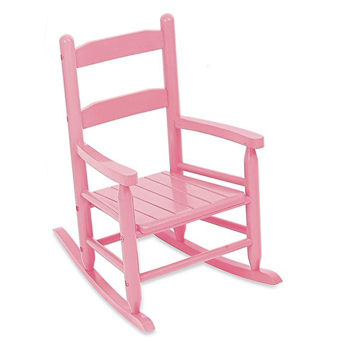 Alternate image 1 for KidKraft® 2-Slat Rocker in Pink