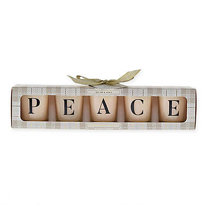 Peace Sugar & Spice Votive Candles (Set of 5)