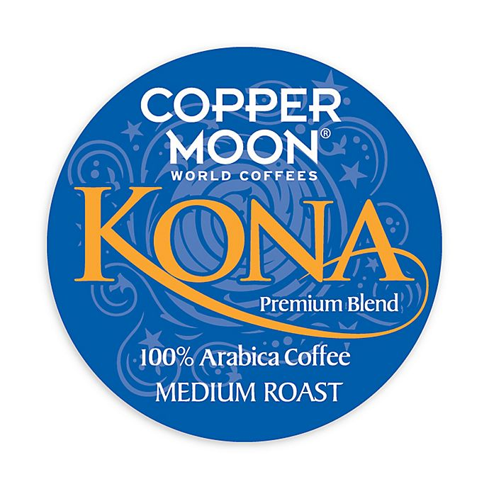 Alternate image 1 for 20-Count Copper Moon® Kona Blend Coffee for Single Serve Coffee Makers
