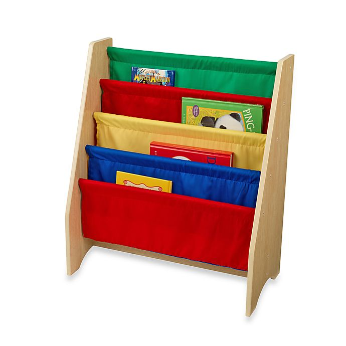 Alternate image 1 for KidKraft® Primary Sling Bookcase