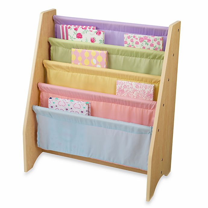 Alternate image 1 for KidKraft® Pastel Sling Bookcase