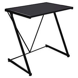 Urban Shop Z-Shaped Student Desk in Black