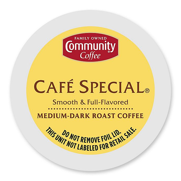 Alternate image 1 for 36-Count Community Coffee® Café Special for Single Serve Coffee Makers