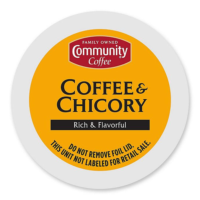 Alternate image 1 for 36-Count Community Coffee® Coffee and Chicory for Single Serve Coffee Makers
