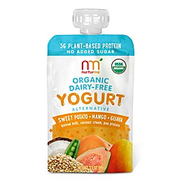 NurturMe 4-Pack 3.5 oz. Organic Sweet Potato, Mango, Guava Yogurt Alternative Pouch