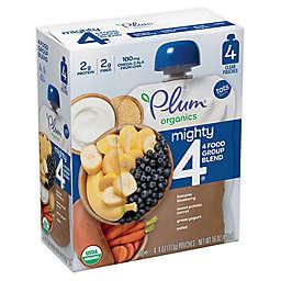 Plum Organics® Tots Mighty 4® 4-Pack Sweet Potato Blueberry 4 oz. Baby Food
