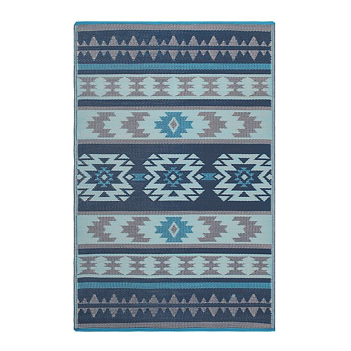 Alternate image 1 for Fab Habitat Cusco 4' x 6' Indoor/Outdoor Area Rug in Blue