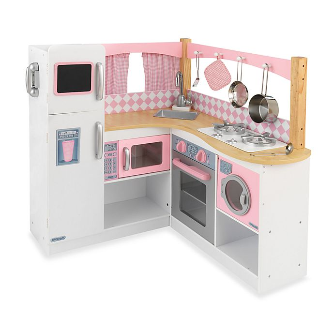 KidKraft® Grand Gourmet Corner Kitchen | Bed Bath & Beyond