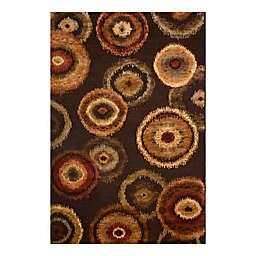 Abacasa Sonoma Kinzie 7'10 x 11'2 Area Rug in Brown/Tan