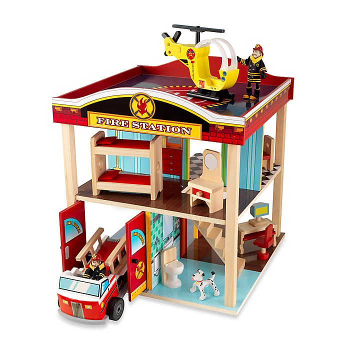 Alternate image 1 for KidKraft® Fire Station Set