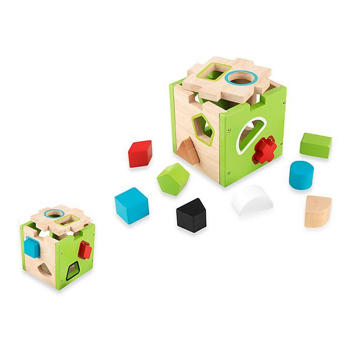 Alternate image 1 for KidKraft® Shape Sorting Cube