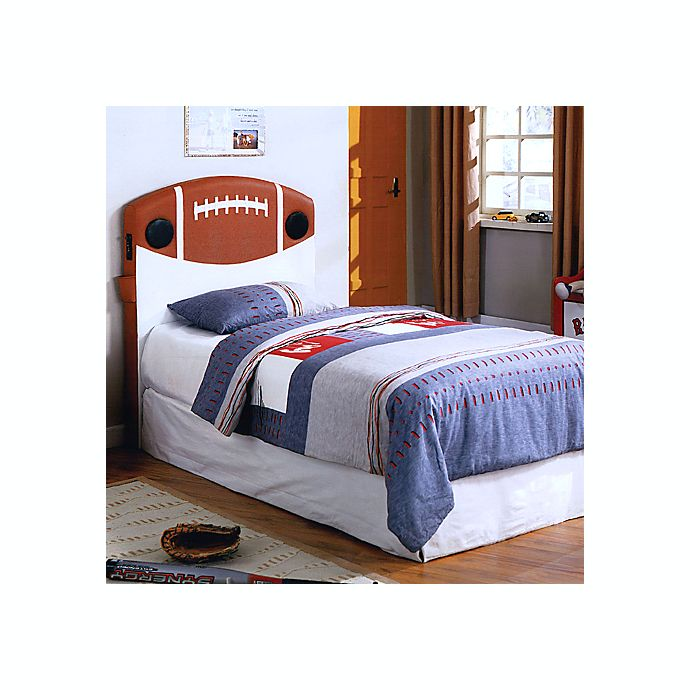 Football Twin Headboard With Built In Speakers Buybuy Baby