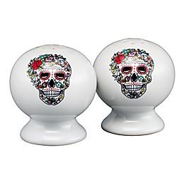 Fiesta® Halloween Sugar Skull Salt and Pepper Shakers