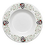 Fiesta® Halloween Sugar Skull Pasta Bowl in White