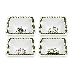 Portmeirion® Mini Square Multicolor Bowls (Set of 4)