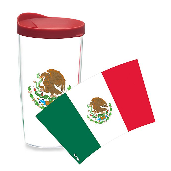 Alternate image 1 for Tervis® Mexican Flag Wrap 16-Ounce Tumbler