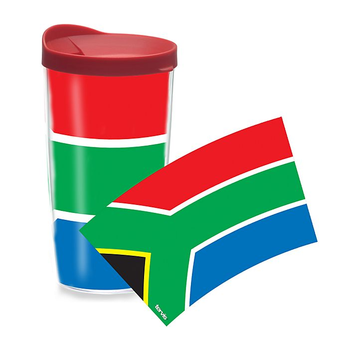 Alternate image 1 for Tervis® South African Flag Wrap 16-Ounce Tumbler