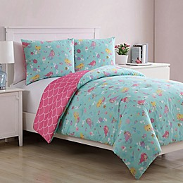 VCNY Home Ocean Mermaid Princess Comforter Set