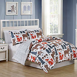 VCNY Home Little Campers Reversible Comforter Set
