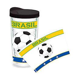 Tervis® Soccer Wrap Brazil 16-Ounce Tumbler
