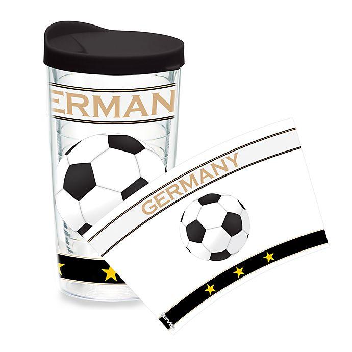 Alternate image 1 for Tervis® Soccer Wrap Germany 16-Ounce Tumbler