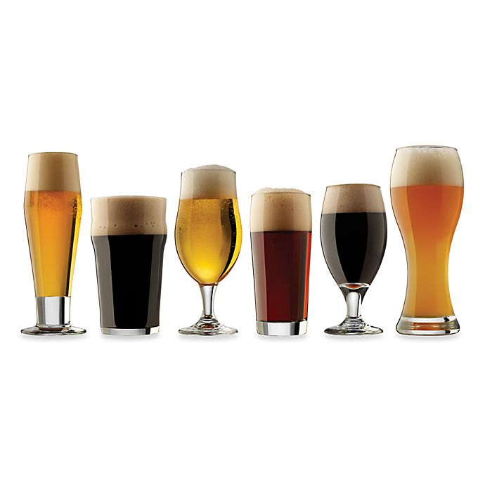 Alternate image 1 for Dailyware™ Craft Brew Beer Tasting Glasses (Set of 6)