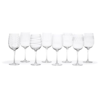 Mikasa® Cheers 15.75 Oz. White Wine Glasses (Set Of 8) by Bed Bath And Beyond