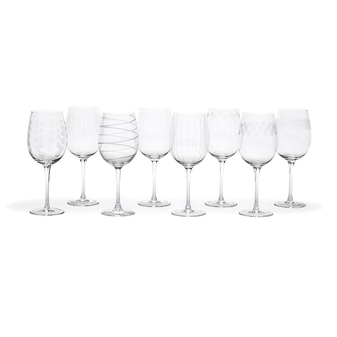 Alternate image 1 for Mikasa® Cheers 15.75 oz. White Wine Glasses (Set of 8)