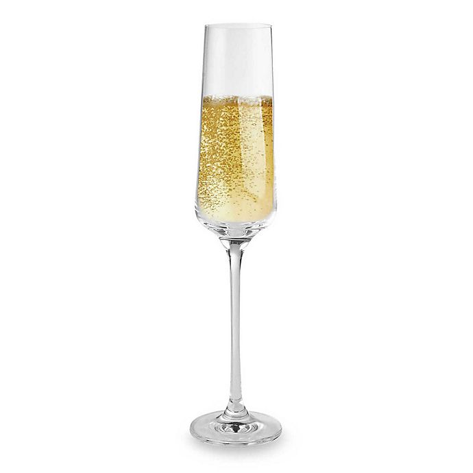 Wine Enthusiast Fusion Infinity Champagne Toasting Flutes