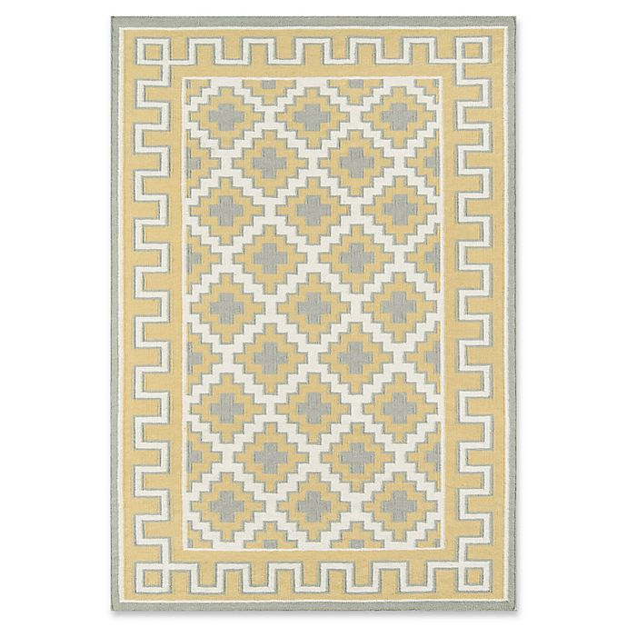Alternate image 1 for Erin Gates Thompson Brookline Hand Woven 3'6 x 5'6 Area Rug in Gold
