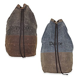 CB Station 27-Inch Waxed Canvas Laundry Duffle Bag