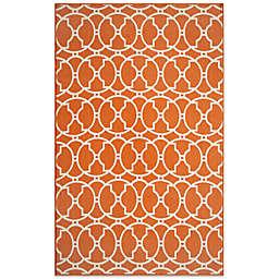 Momeni Baja Orange Indoor/Outdoor Accent Rug