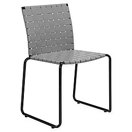 Zuo® Beckett Patio Dining Chairs in Light Grey (Set of 4)