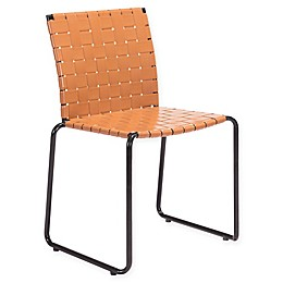 Zuo® Beckett Patio Dining Chairs in Tan (Set of 4)