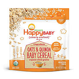 Happy Baby® Clearly Crafted Organic Oats & Quinoa Baby Cereal