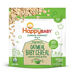 Happy Baby® Clearly Crafted Organic Oatmeal Baby Cereal