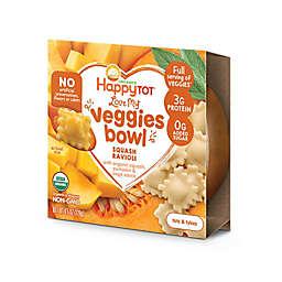 "Happy Baby Happy Tot ""Love My Veggies"" Organic Squash Ravioli Bowl"