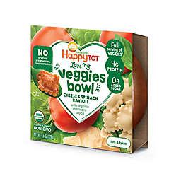 "Happy Baby Happy Tot ""Love My Veggies"" Organic Cheese & Spinach Ravioli Bowl"