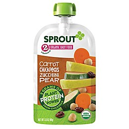 Sprout Organic Foods® 3.5 oz. Stage 2 Carrot, Chickpeas, Zucchini, Pear