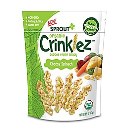 Sprout Organic Foods® 1.48 oz. Cheesy Spinach Crinklez